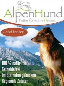 Alpenhund – Das Futter für wahre Helden. Jetzt testen!