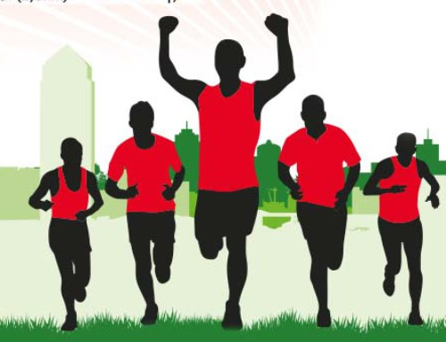 Viertel-, Drittel- und Halbmarathon am 9. April. Hundebegleitung ausdrücklich willkommen!