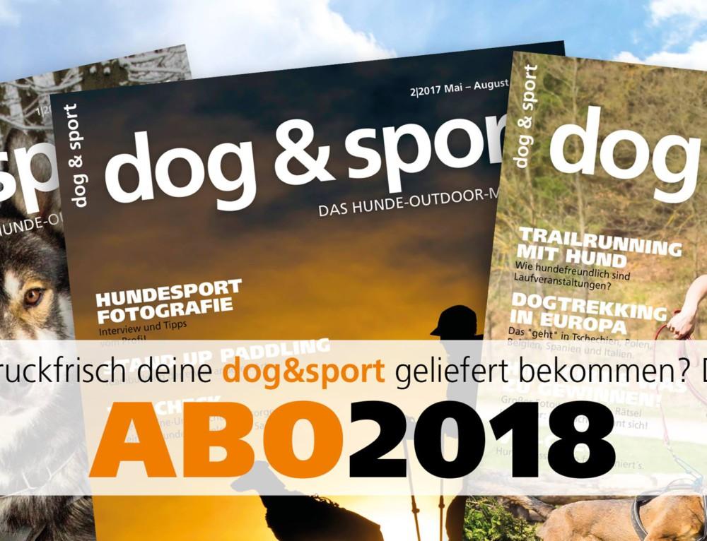 dog & sport Abo 2018