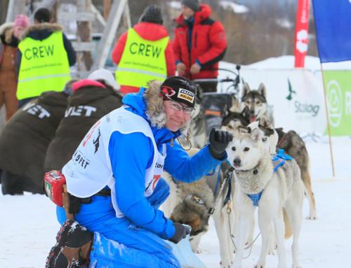 Eine Bewährungsprobe XXL für das längste Schlittenhunderennen Europas