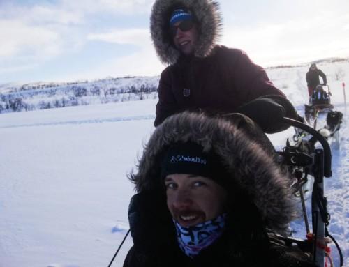 """Schöne Grüße von der Expedition """"Nordgehen"""" an alle dog & sport – Leser"""